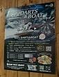 20代以上男女向け 公営競技場でのイベント告知 ダーツバーでのポスター掲出とツール設置(大阪)